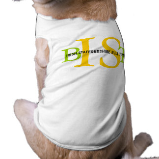 Irish Staffordshire Bull Terrier Monogram Shirt