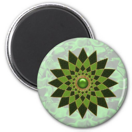 Irish Star Jewel star #1 Refrigerator Magnet
