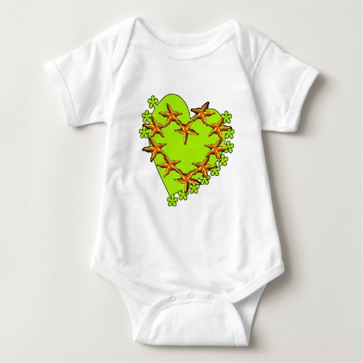 Irish Starfish Baby Bodysuit