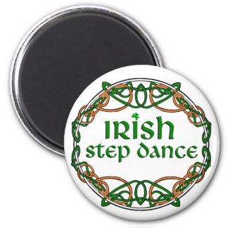 Irish Step Dance 2 Inch Round Magnet