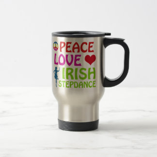 irish Step dance designs 15 Oz Stainless Steel Travel Mug