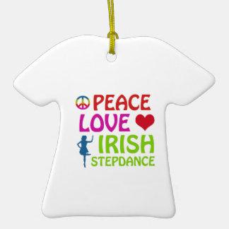 irish Step dance designs Ornaments