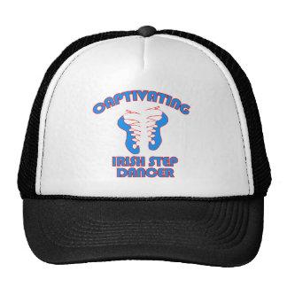 Irish step  DANCE DESIGNS Trucker Hat