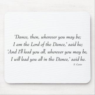 Irish Step Dance - Lord of the Dance Chorus Mouse Pad