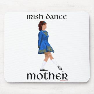 Irish Step Dance Mother - Blue Soft Shoe Mouse Pad