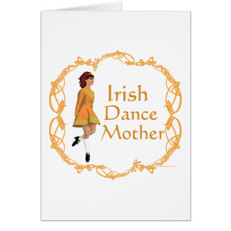 Irish Step Dance Mother - Gold Cards