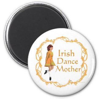 Irish Step Dance Mother - Gold Magnets
