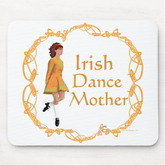 Irish Step Dance Mother - Gold Mouse Pad