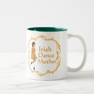Irish Step Dance Mother - Gold Two-Tone Coffee Mug