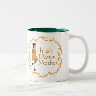 Irish Step Dance Mother - Gold Two-Tone Coffee Mug