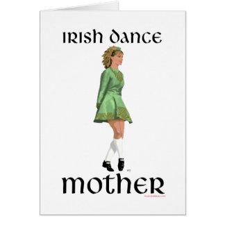 Irish Step Dance Mother - Green Cards