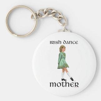Irish Step Dance Mother - Green Keychain