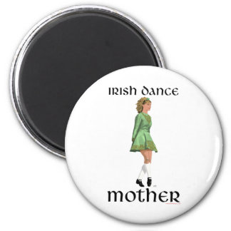 Irish Step Dance Mother - Green Magnet