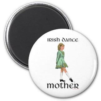 Irish Step Dance Mother - Green Magnets