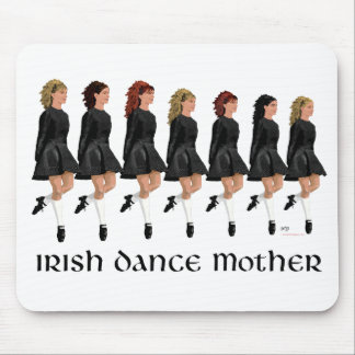 Irish Step Dance Mother - Line of Dancers Mouse Pad