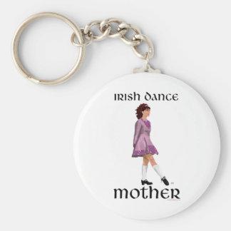 Irish Step Dance Mother - Mauve Keychain