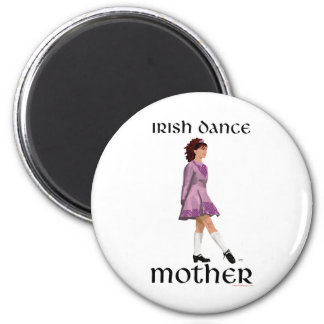 Irish Step Dance Mother - Mauve Magnet