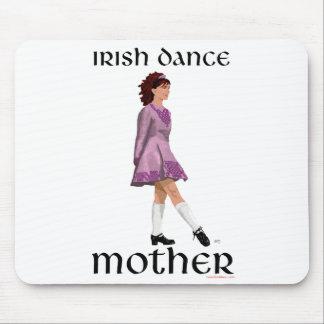 Irish Step Dance Mother - Mauve Mouse Pad