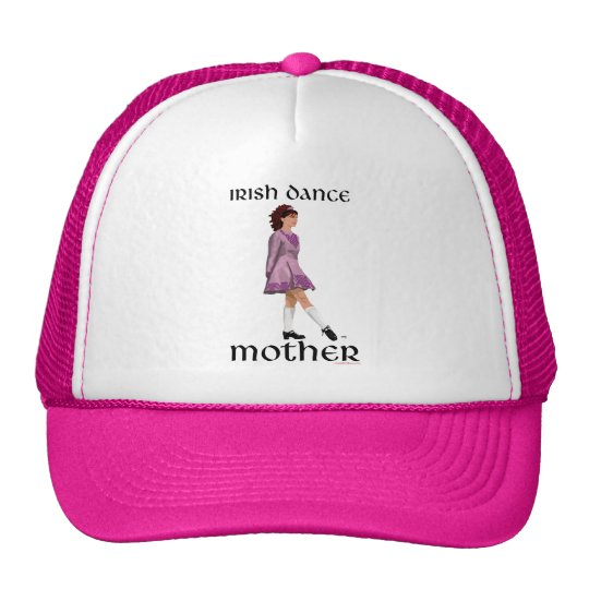 Irish Step Dance Mother - Mauve Trucker Hat