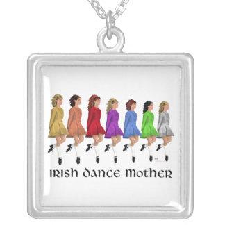 Irish Step Dance Mother Necklace - Rainbow