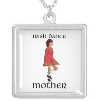 Irish Step Dance Mother Necklace - Red