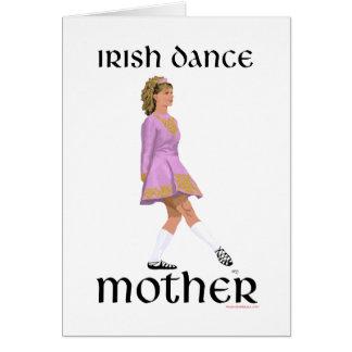 Irish Step Dance Mother - Pink Cards