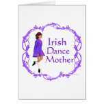 Irish Step Dance Mother - Purple Cards
