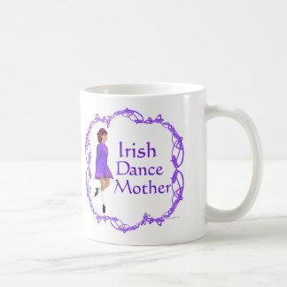 Irish Step Dance Mother - Purple Classic White Coffee Mug