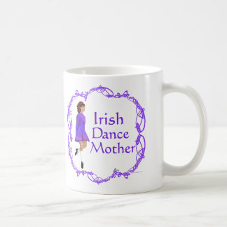 Irish Step Dance Mother - Purple Coffee Mug