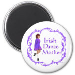Irish Step Dance Mother - Purple Fridge Magnet