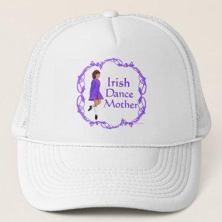 Irish Step Dance Mother - Purple Trucker Hat