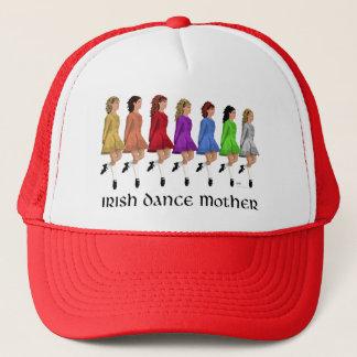 Irish Step Dance Mother - Rainbow Line Trucker Hat