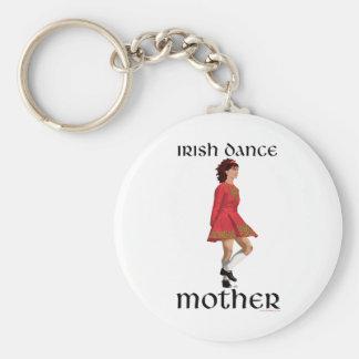 Irish Step Dance Mother - Red Keychain