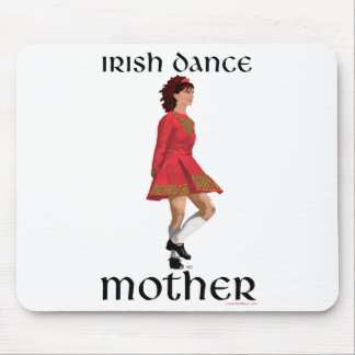 Irish Step Dance Mother - Red Mouse Pad