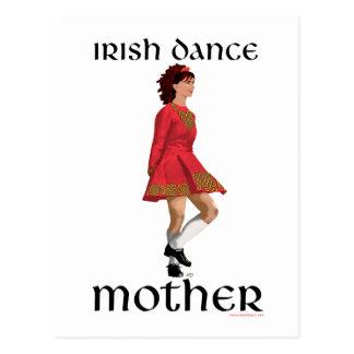 Irish Step Dance Mother - Red Postcards