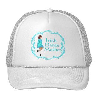 Irish Step Dance Mother - Turquoise Trucker Hat