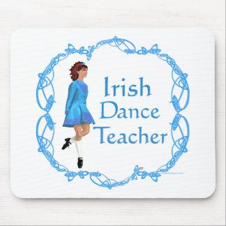 Irish Step Dance Teacher - Blue Mouse Pad