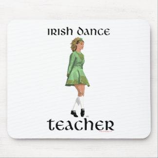 Irish Step Dance Teacher - Green Mouse Pad