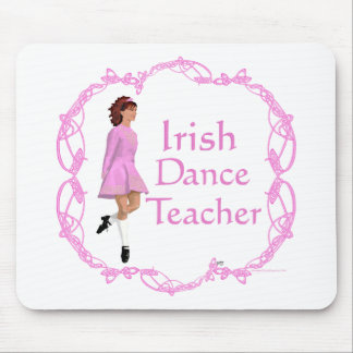 Irish Step Dance Teacher - Pink Mouse Pad