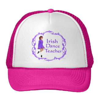 Irish Step Dance Teacher - Purple Trucker Hat