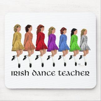 Irish Step Dance Teacher - Rainbow Mouse Pad
