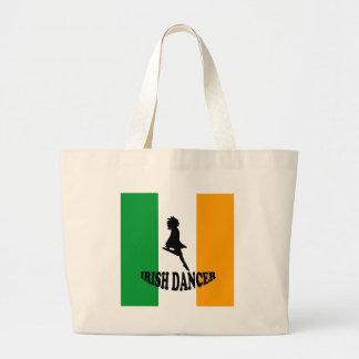 Irish Step Dancer Tote Bags