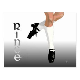 Irish Step Dancer - Hard Shoe - Rince Postcard