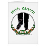 Irish Step Dancer - Male Greeting Card