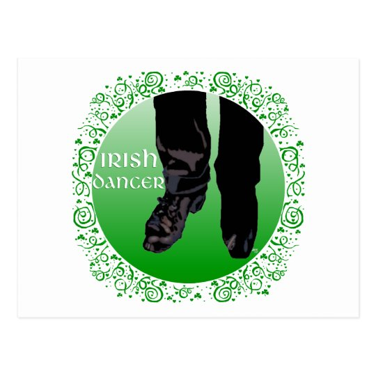 Irish Step Dancer - Male Postcard
