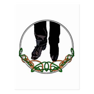 Irish Step Dancer - Male Post Card