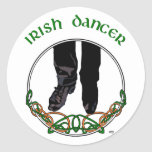 Irish Step Dancer - Male Stickers