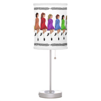 Irish Step Dancers Lamp