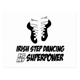 Irish Step Dancing is my Superpower Postcard
