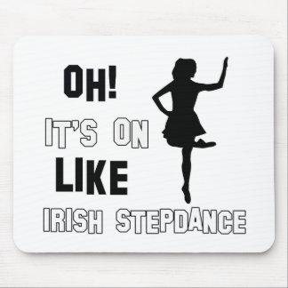 Irish Stepdance Dance Designs Mouse Pad